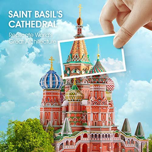 Cubicfun Cattedrale Di San Basilio Modellino Puzzle 3d Multicolore 771l519 0 0