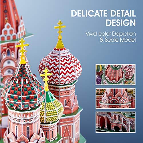 Cubicfun Cattedrale Di San Basilio Modellino Puzzle 3d Multicolore 771l519 0 2