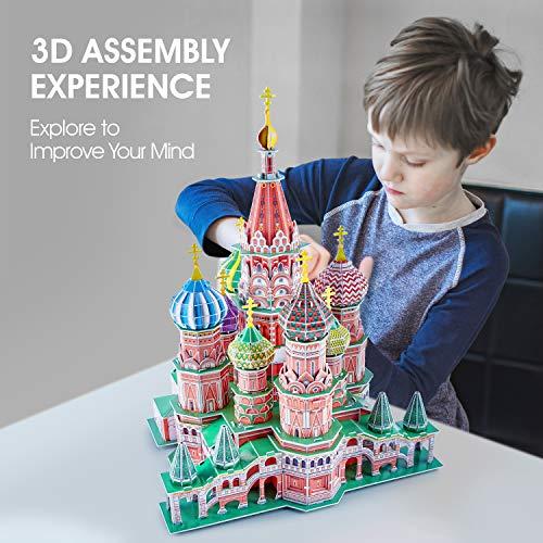 Cubicfun Cattedrale Di San Basilio Modellino Puzzle 3d Multicolore 771l519 0 3