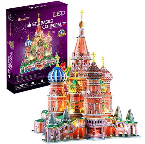 Cubicfun Cattedrale Di San Basilio Modellino Puzzle 3d Multicolore 771l519 0
