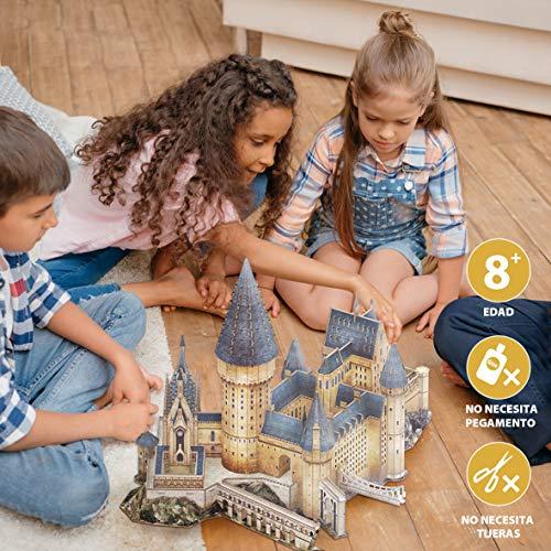 Cubicfun Ds1011h Puzzle 3d Harry Potter Hall 187 Pezzi 0 5