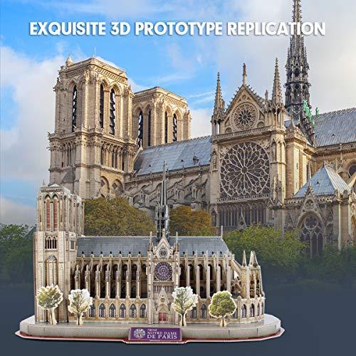 Cubicfun National Geographic Puzzle 3d Notre Dame De Paris 128 Pezzi 0 0
