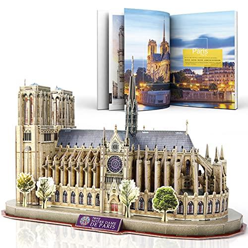 Cubicfun National Geographic Puzzle 3d Notre Dame De Paris 128 Pezzi 0