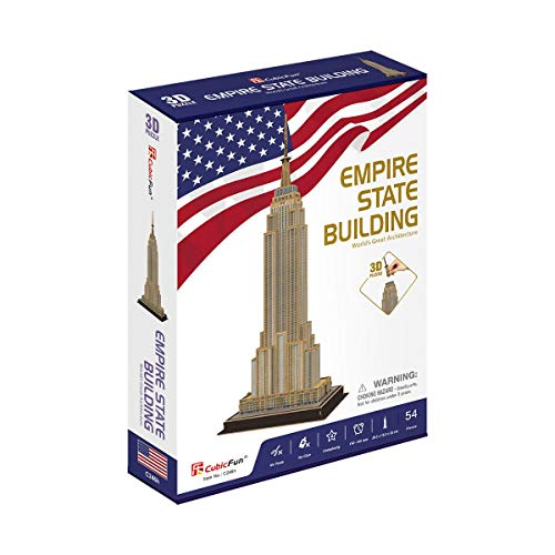 Cubicfun Puzzle 3d Empire State Building 54 Piezas 771c246 0 3