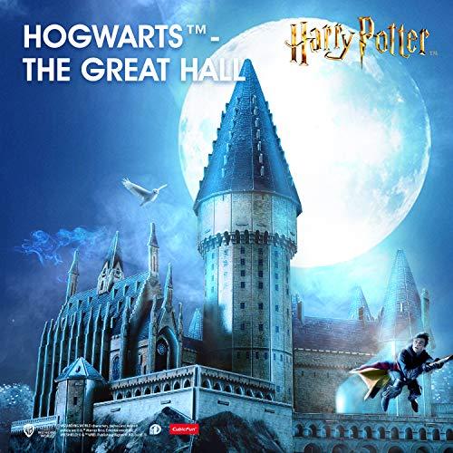 Cubicfun Puzzle 3d Harry Potter Hogwarts Sala Grande Kit Di Modellismo Creativo Souvenir Regalo Compleanno Per Adulti E Adolescente 187 Pezzi Versione Grande 0 0