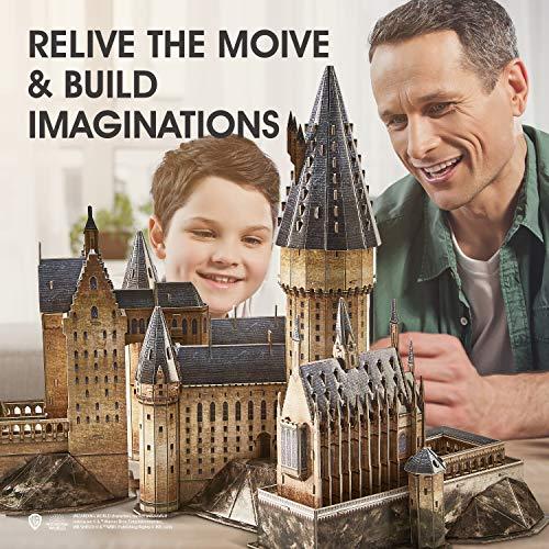Cubicfun Puzzle 3d Harry Potter Hogwarts Sala Grande Kit Di Modellismo Creativo Souvenir Regalo Compleanno Per Adulti E Adolescente 187 Pezzi Versione Grande 0 1