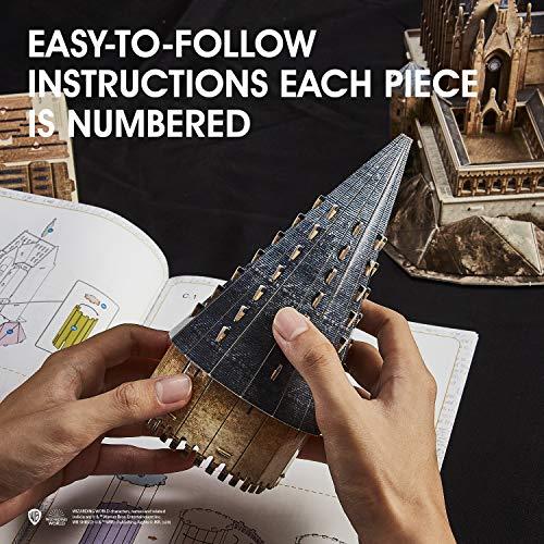 Cubicfun Puzzle 3d Harry Potter Hogwarts Sala Grande Kit Di Modellismo Creativo Souvenir Regalo Compleanno Per Adulti E Adolescente 187 Pezzi Versione Grande 0 3