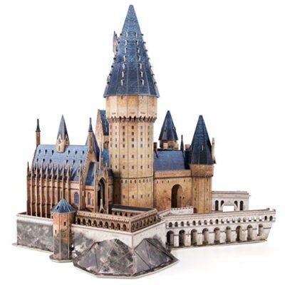 Cubicfun Puzzle 3d Harry Potter Hogwarts Sala Grande Kit Di Modellismo Creativo Souvenir Regalo Compleanno Per Adulti E Adolescente 187 Pezzi Versione Grande 0