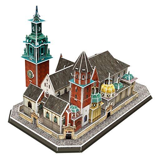 Cubicfun Puzzle 3d Katedra Na Wawelu 101 El Puzzle 0 1