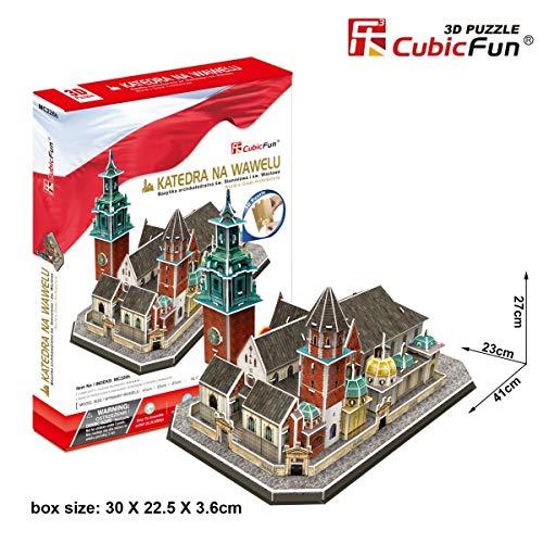 Cubicfun Puzzle 3d Katedra Na Wawelu 101 El Puzzle 0 2