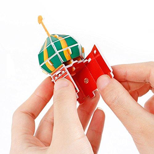 Cubicfun Puzzle 3d Russia Kit Modello Di Costruzione Cattedrale Di San Basilio 92 Pezzi 0 3