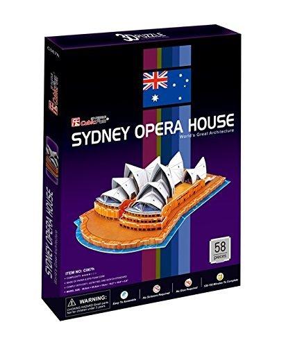 Cubicfun Puzzle 3d C Serie Teatro Dellopera Di Sydney 58 Pezzi 0 0