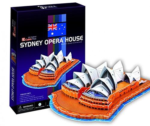 Cubicfun Puzzle 3d C Serie Teatro Dellopera Di Sydney 58 Pezzi 0