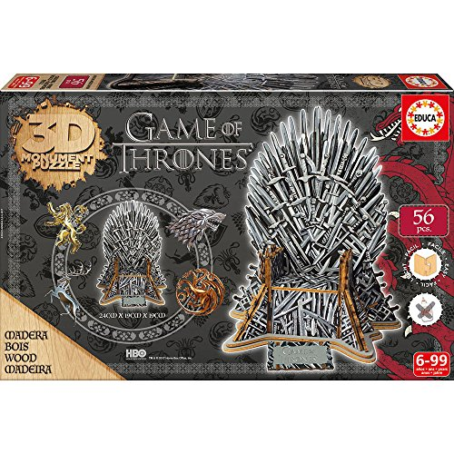 Educa Games 3d Monument Puzzle Game Of Thrones Il Trono Di Spade 17207 0 0