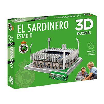 Eleven Force Estadio El Puzzle Stadio 3d Il Sardinero Racing S 10797 Multicolore 0