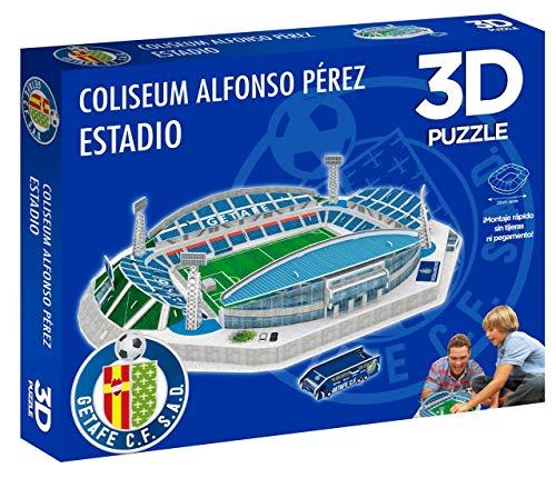 Eleven Force Producto Oficial Puzzle 3d Coliseum Alfonso Perez Prodotto Ufficiale Getafe Cf 98 Piezas Aprox 0