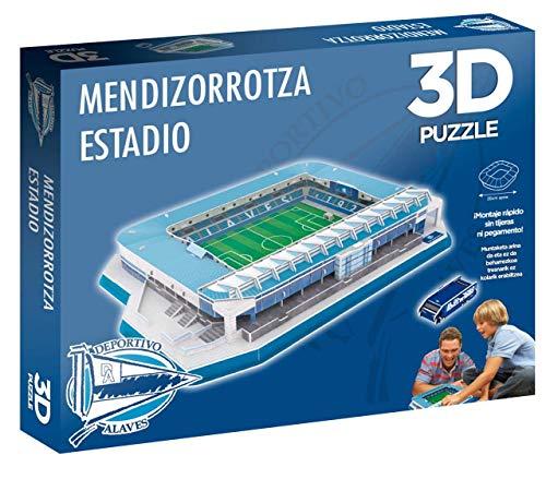 Eleven Force Puzzle 3d Stadio Di Mendivolpe Prodotto Ufficiale Sportivo Alave 98 Pezzi Circa 0