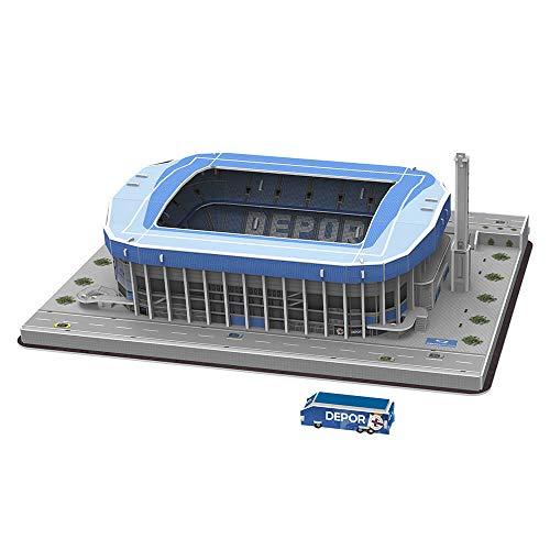 Eleven Force Puzzle Estadio 3d Riazor Deportivo Stadio Sport Multicolore Taglia Unica 1 0 0