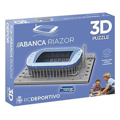 Eleven Force Puzzle Estadio 3d Riazor Deportivo Stadio Sport Multicolore Taglia Unica 1 0