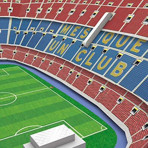 Fcb Estadio De Barcelona Nanostad Puzzle 3d Stadio Camp Nou Mini Fc Barcellona 34010 Multicolore 0 0