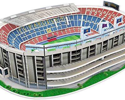 Fcb Estadio De Barcelona Nanostad Puzzle 3d Stadio Camp Nou Mini Fc Barcellona 34010 Multicolore 0
