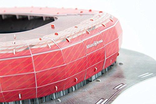 Giochi Preziosi Nanostad Puzzle 3d Allianz Arena Bayern Monaco 0 4