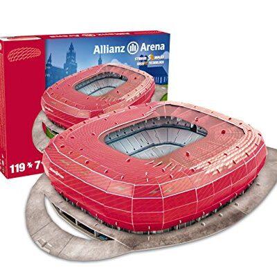 Giochi Preziosi Nanostad Puzzle 3d Allianz Arena Bayern Monaco 0