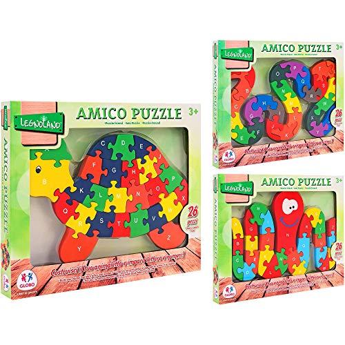 Globo Puzzle In Legno Amico 26 Pezzi 38261 0 0
