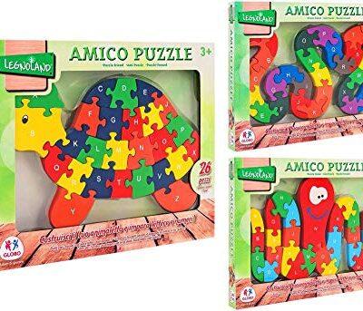 Globo Puzzle In Legno Amico 26 Pezzi 38261 0
