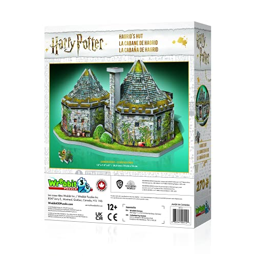 Jh Products Hagrids Hut Puzzle 270 Piece Hoghag 0 0