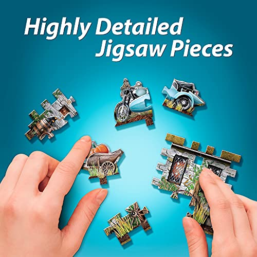 Jh Products Hagrids Hut Puzzle 270 Piece Hoghag 0 3