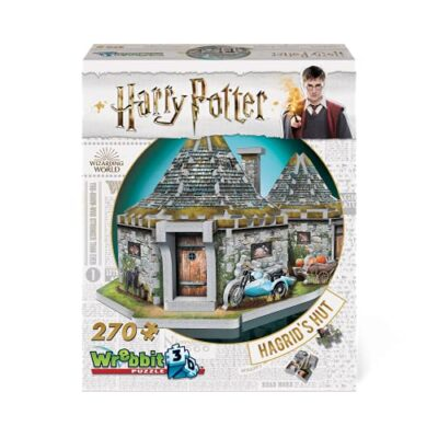 Jh Products Hagrids Hut Puzzle 270 Piece Hoghag 0