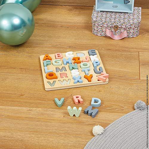 Janod Puzzle Alfabeto In Legno 26 Pezzi Collezione Sweet Cocoon Giocattolo Didattico E Prima Infanzia Dipinto Ad Acqua Imparare Lalfabeto E La Scrittura A Partire Dai 2 Anni In Su J04412 0 5