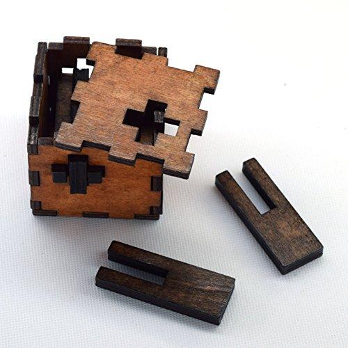 Joyeee Legno Rompicapo Torsione Cube Puzzle Game 3d Gioco Di Mente Cubo 11 0 0