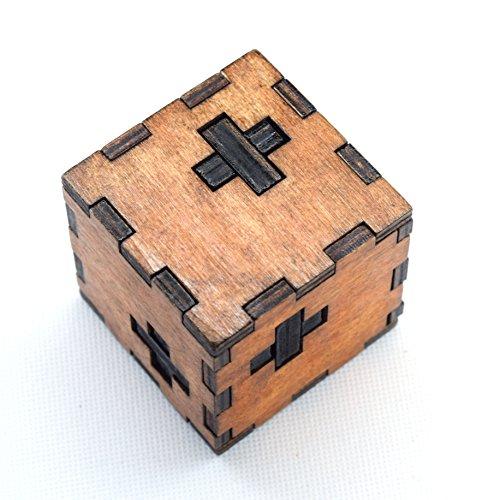 Joyeee Legno Rompicapo Torsione Cube Puzzle Game 3d Gioco Di Mente Cubo 11 0
