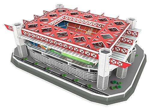 Karactermania Estadio De Nanostad Puzzle 3d Stadio Giuseppe Meazza Standard Milano San Siro 39452 Multicolore 1 0