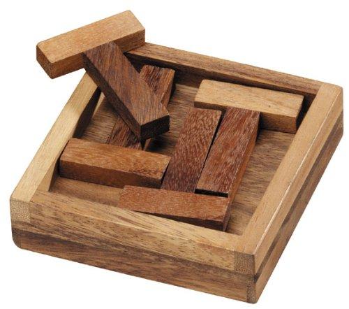 Logica Giochi Art 4t Puzzle Rompicapo Geometrico In Legno 5 Giochi In 1 Gioco Educativo Scatola Richiudibile Serie Euclide 0 2