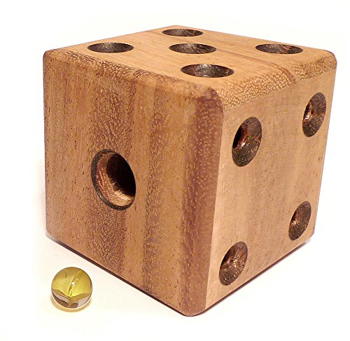Logica Giochi Art Dado Labirinto Rompicapo 3d Ad Incastro In Legno Difficolta 46 Estremo Serie Da Collezione Leonardo Da Vinci 0 0
