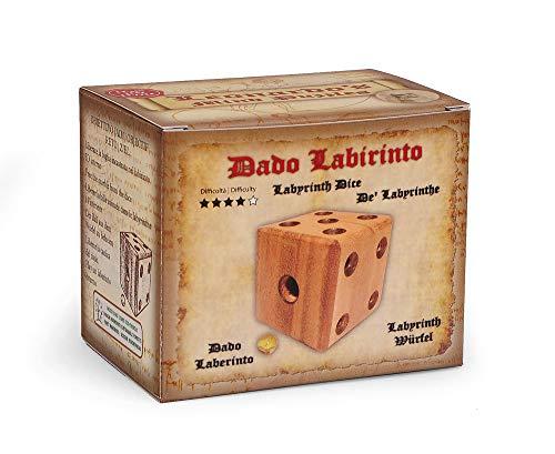 Logica Giochi Art Dado Labirinto Rompicapo 3d Ad Incastro In Legno Difficolta 46 Estremo Serie Da Collezione Leonardo Da Vinci 0 1
