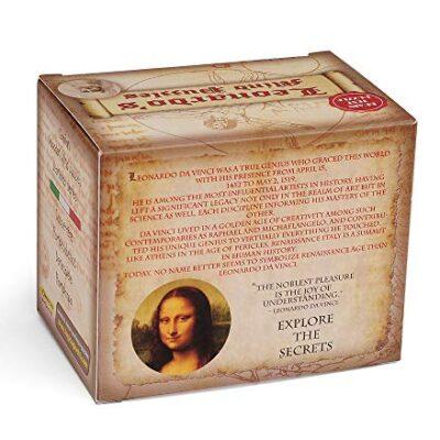 Logica Giochi Art Dado Labirinto Rompicapo 3d Ad Incastro In Legno Difficolta 46 Estremo Serie Da Collezione Leonardo Da Vinci 0 2