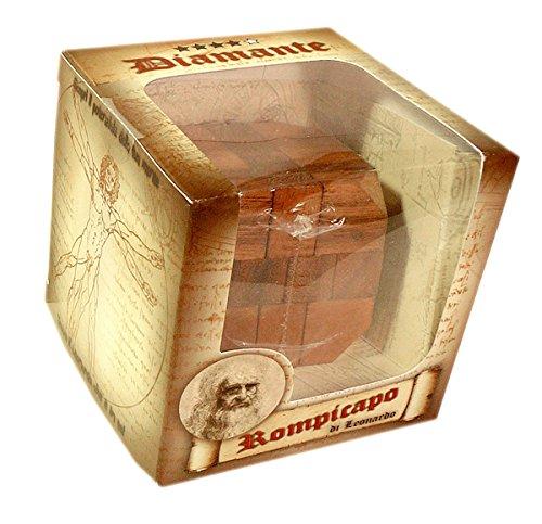 Logica Giochi Art Diamante Rompicapo 3d In Legno Difficolta 46 Estremo Serie Da Collezione Leonardo Da Vinci 0 1