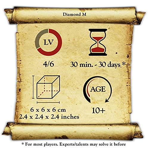 Logica Giochi Art Diamante Rompicapo 3d In Legno Difficolta 46 Estremo Serie Da Collezione Leonardo Da Vinci 0 3