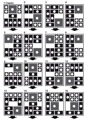 Logica Giochi Art Fuga Dalla Prigione Khun Phaen Klotski Rompicapo In Legno 16 Giochi In 1 Difficolta Miste 0 0