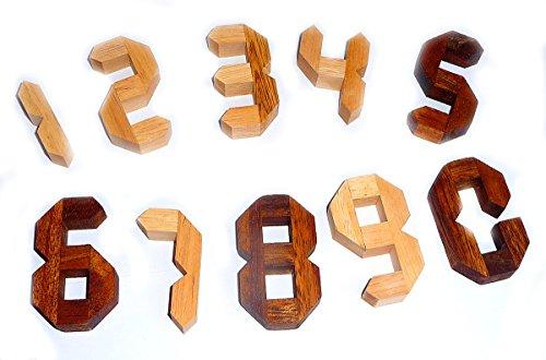 Logica Giochi Art Numeri Rompicapo Geometrico In Legno Prezioso Difficolta 46 Estremo Serie Euclide 0 1