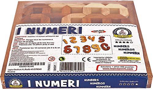 Logica Giochi Art Numeri Rompicapo Geometrico In Legno Prezioso Difficolta 46 Estremo Serie Euclide 0 4