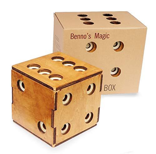 Logica Giochi Art Scrigno Dado Enigmatico Rompicapo In Legno Scatola Segreta Difficolta 56 Incredibile Serie Leonardo Da Vinci 0