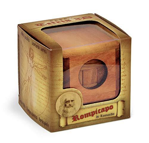 Logica Giochi Art Tetris 3d Soma Rompicapo 3d Ad Incastro In Legno 100 Rompicapo In 1 Serie Rompicapo Da Collezione Leonardo Da Vinci 0 4
