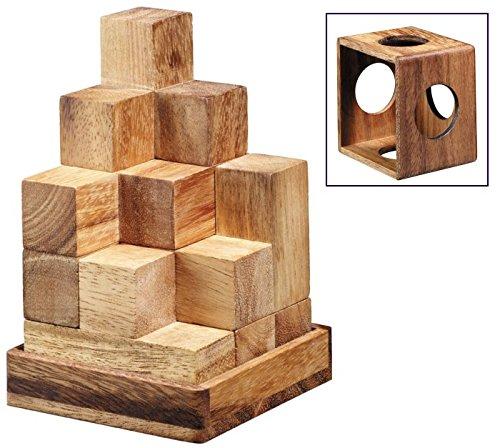 Logica Giochi Art Tetris 3d Soma Rompicapo 3d Ad Incastro In Legno 100 Rompicapo In 1 Serie Rompicapo Da Collezione Leonardo Da Vinci 0