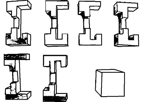 Logica Giochi Art Trappola Rompicapo 3d Ad Incastro In Legno Difficolta 56 Incredibile Serie Da Collezione Leonardo Da Vinci 0 0