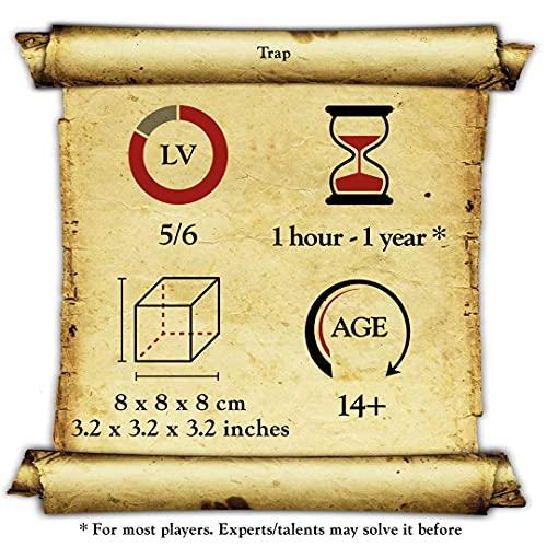 Logica Giochi Art Trappola Rompicapo 3d Ad Incastro In Legno Difficolta 56 Incredibile Serie Da Collezione Leonardo Da Vinci 0 2
